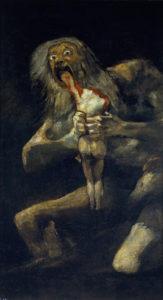 Saturno devorando a un hijo-Francisco-de-Goya