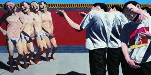 Yue Minjun Execution-1995-10 de los artistas contemporáneos chinos más sobresalientes