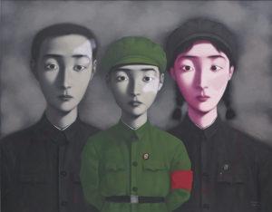 Zhang Xiaogang Bloodline, Big Family no. 3-10 de los artistas contemporáneos chinos más sobresalientes