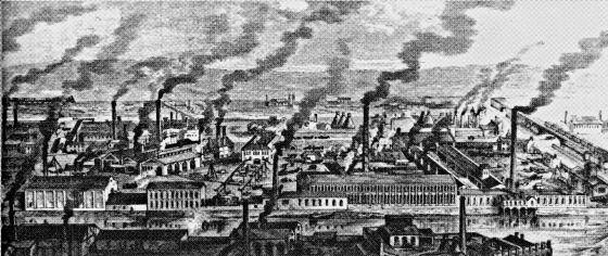 ciudades revolució industrial