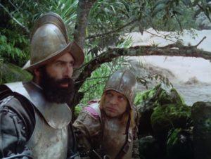 Aguirre, la ira de Dios. Herzog, Kinski - diálogo primero