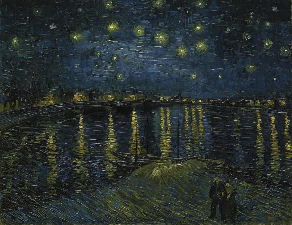 1200px Vincent van Gogh   Starry Night   Google Art Project