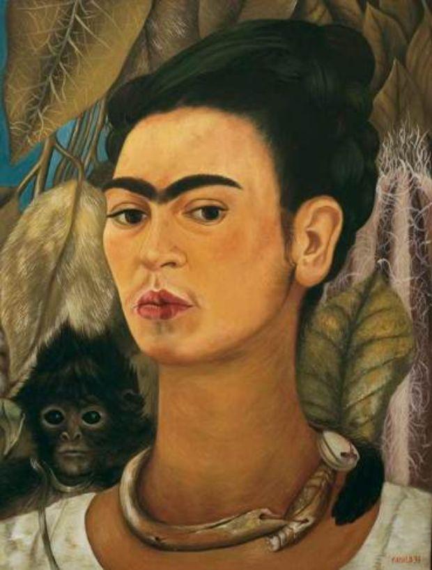 1938-autorretrato-con-monos