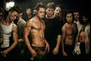 El club de la pelea - Brad Pitt, Edwar Norton 1999 - brad pitt