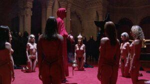 Eyes wide shut - 1999 Kucrick, Kidman y Cruise - Durante el ritual
