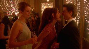 Eyes wide shut - 1999 Kucrick, Kidman y Cruise - Flirteo en el baile de él