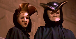 Eyes wide shut - 1999 Kucrick, Kidman y Cruise - Pareja de máscaras II