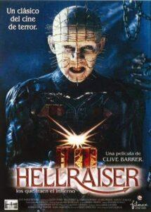 Hellraiser, Clive Barker - Portada