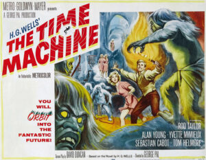 La maquina del tiempo - portada