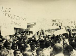 1967 demonstration at wallblake airport orig