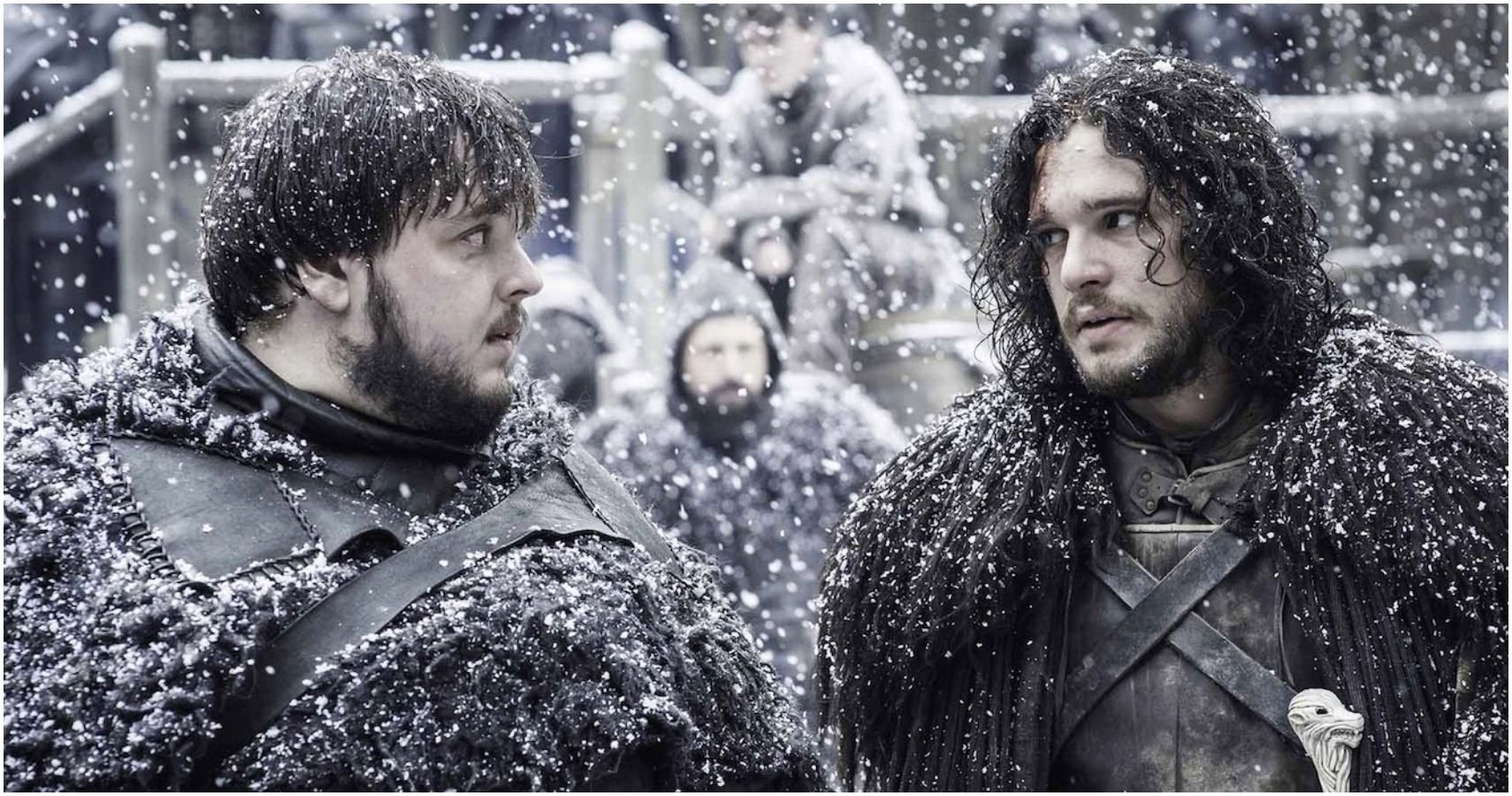 Game of Thrones Jon Snow Samwell Tarly friends feature
