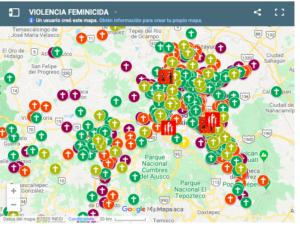 MAPEO FEMINICIDIOS