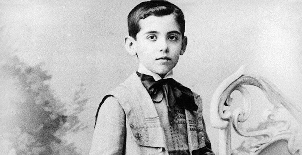 García Lorca niño en Fuente Vaqueros
