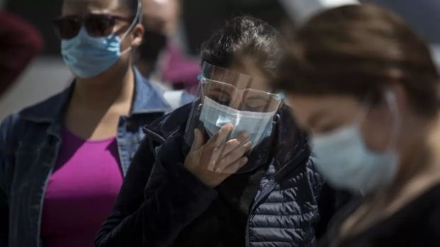 mal uso del cubrebocas - miedo a termometro infrarrojo - ignorancia - malas medidas sanitarias - coronavirus - covid 19