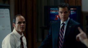 Destino oculto - Matt Damon en campaña