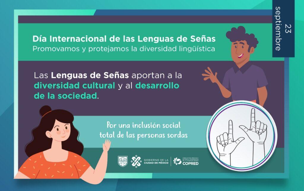 Dia Internacional de las Lenguas de Senas