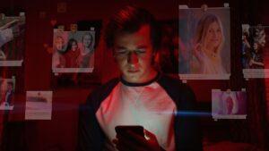 El dilema de las redes sociales - joven adicto