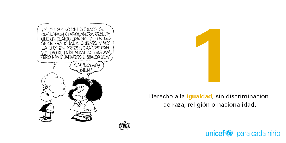 Mafalda UNICEF 1