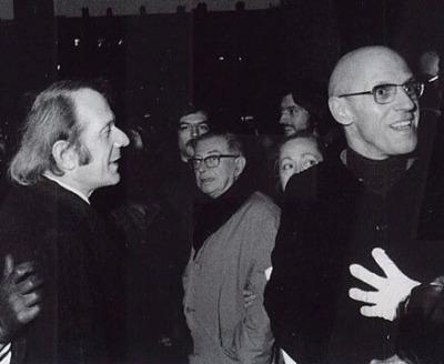 Pensadores Deleuze Sartre Foucault