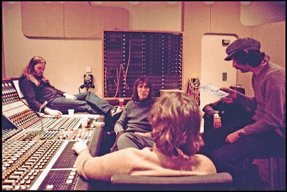 Pink Floyd; Wish You Were Here sessions.