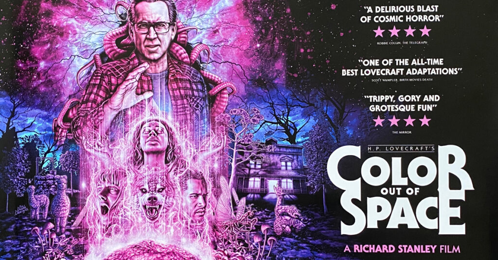 Especial del Terror colour out of space