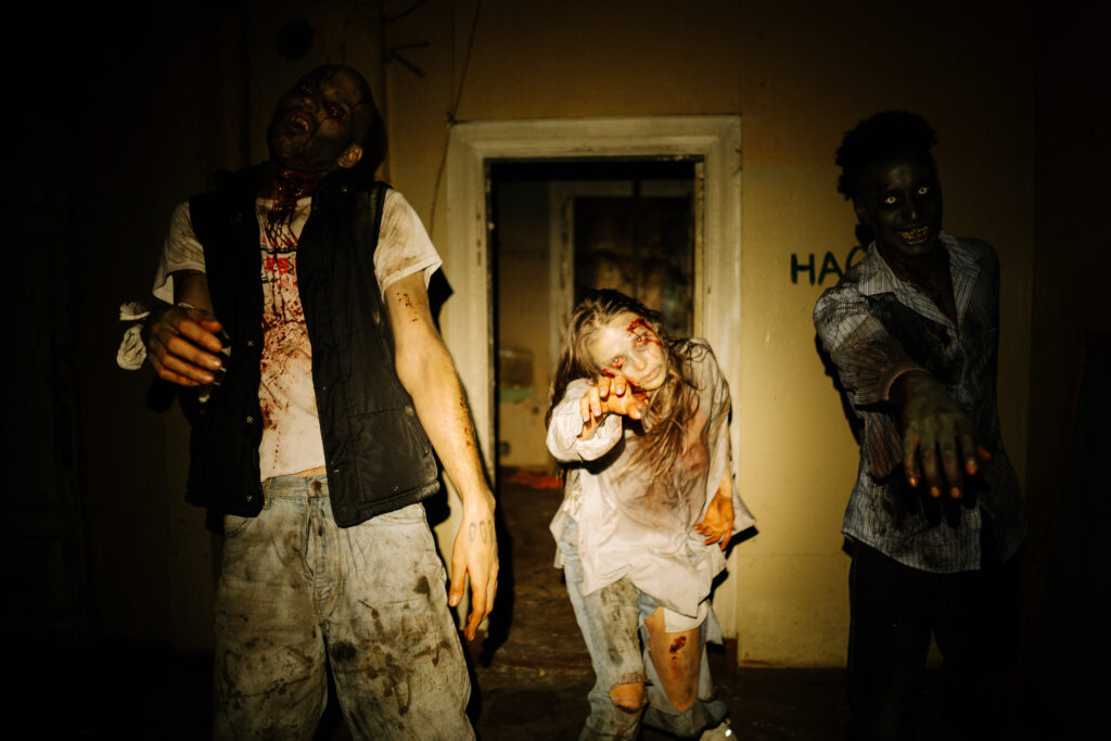 Especial del terror ataque zombi