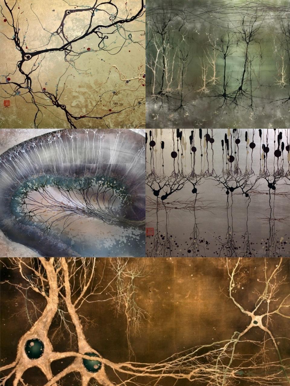 Arte neural realizado por Greg Dunn