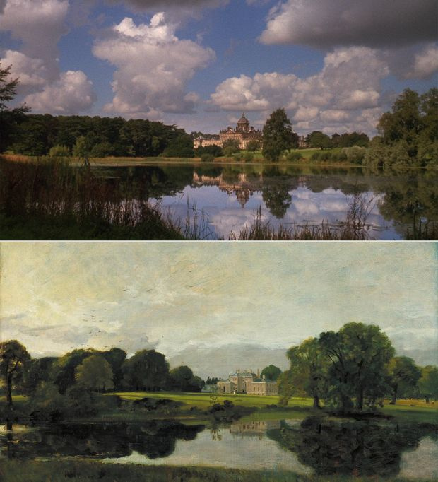 Malvern Gall de John Constable en Barry Lyndon de Stanley Kubrick