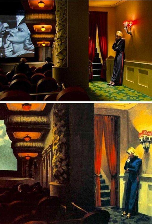 Shirley. Visions of Reality de Gustav Deutsch New York Movie de Edward Hopper
