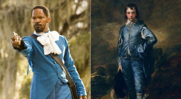 The Blue Boy de Thomas Gainsborough en Django Unchained de Quentin Tarantino