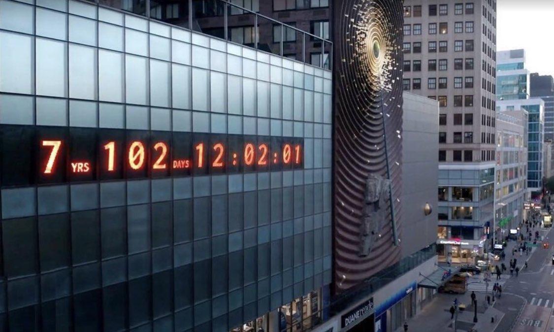 Reloj del cambio climático