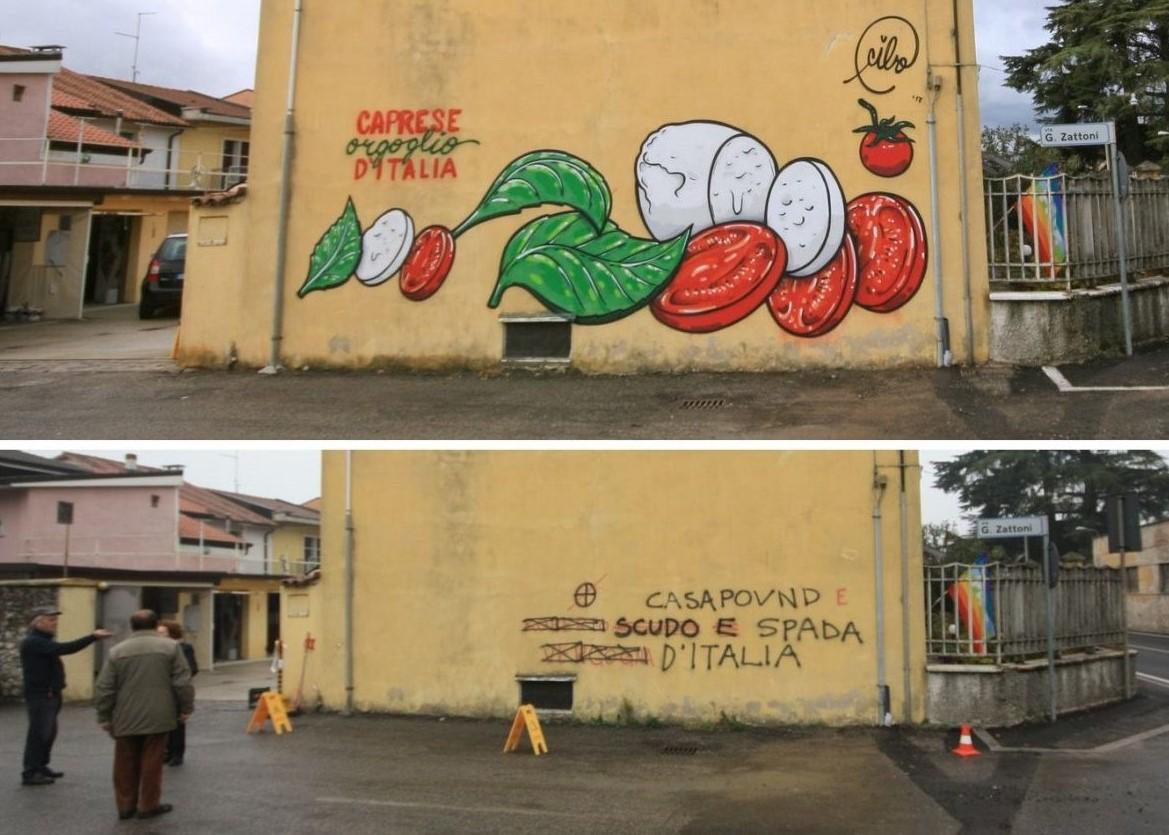 Comida vs Odio. CIBO, el artista urbano que combate el racismo.