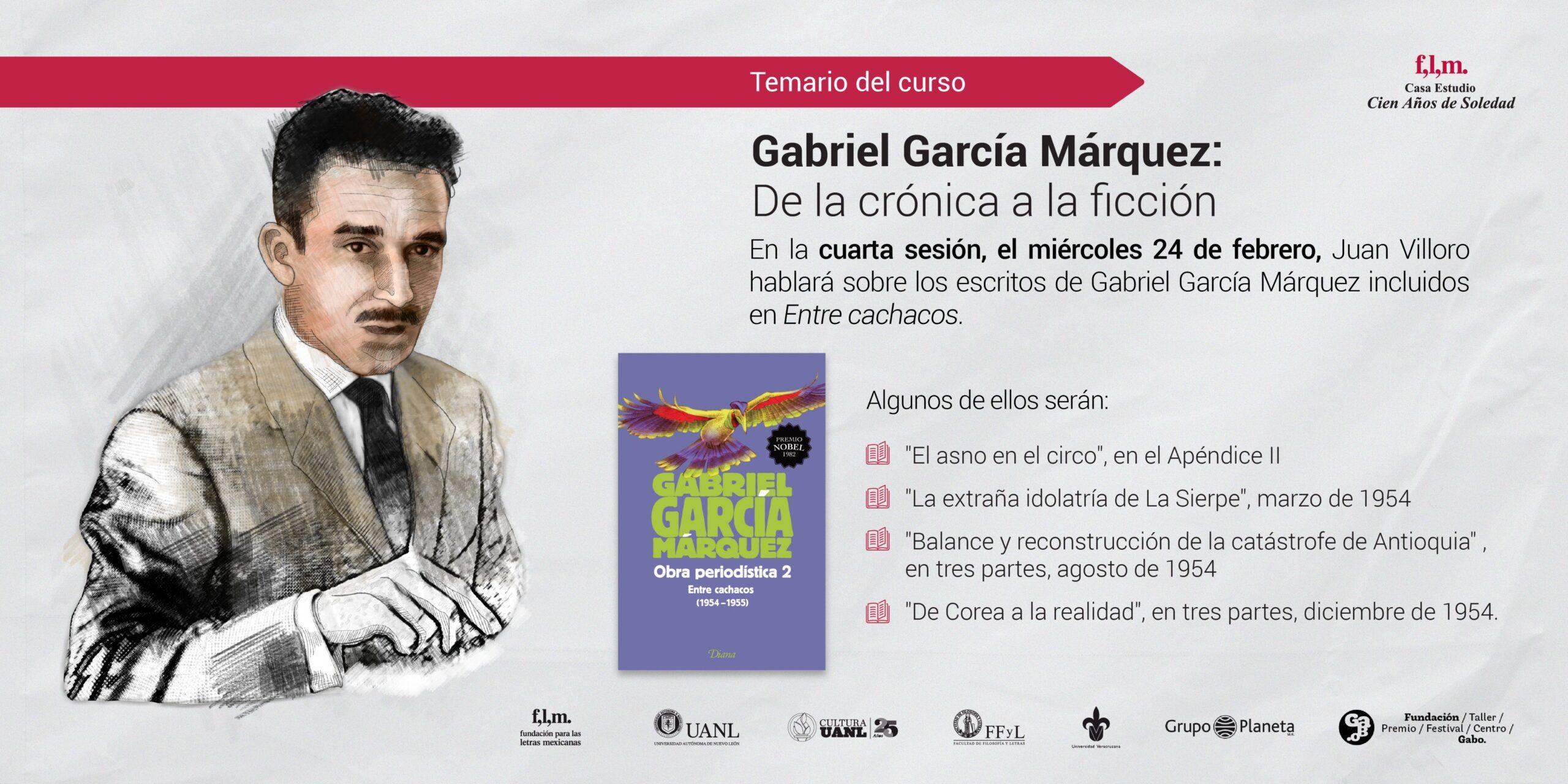 Gabriel Garcia Marquez De la cronica a la ficcion Crea Cuervos scaled