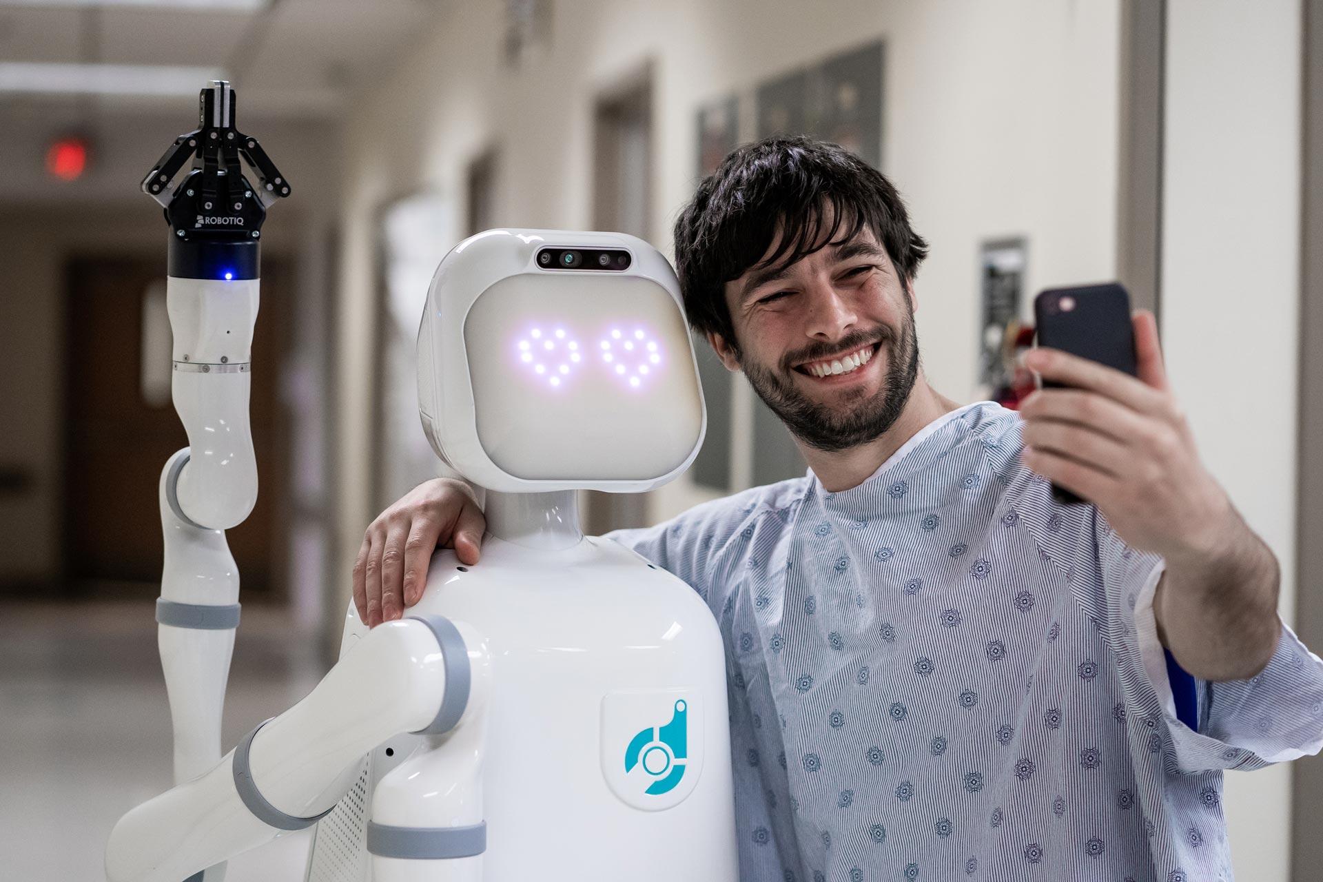 robot enfermero asia