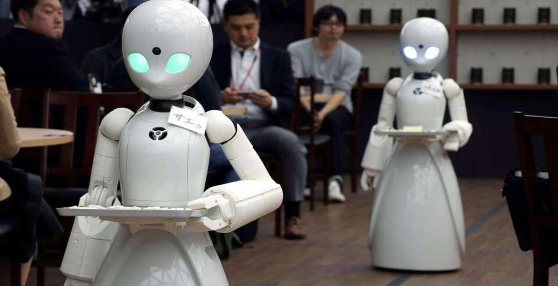 robot mesero asia