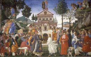 Artistas que también pintaron frescos en la Capilla Sixtina y no son Miguel Ángel