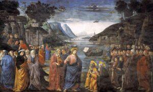 Domenico Ghirlandaio, La llamada de los apóstoles